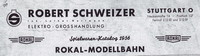 Fa. Schweizer Katalog 1956 Seite 1