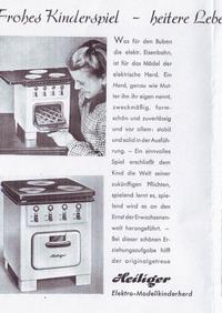 Heiliger Modellherdprospekt 1951 Vorderseite