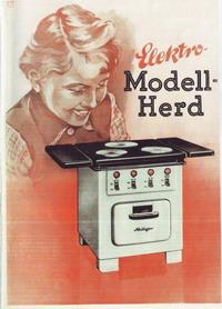 Heiliger Modellherdprospekt 1953 Vorderseite