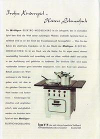 Heiliger Modellherdprospekt 1953 innen links